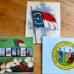 North Carolina postcards - 3 pack