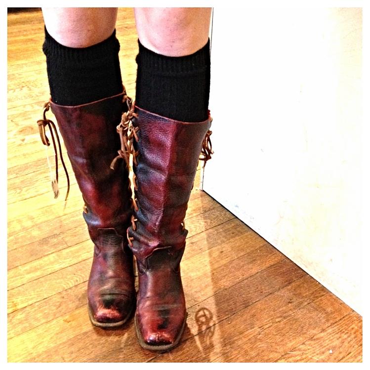 Vintage Boho Boots 63