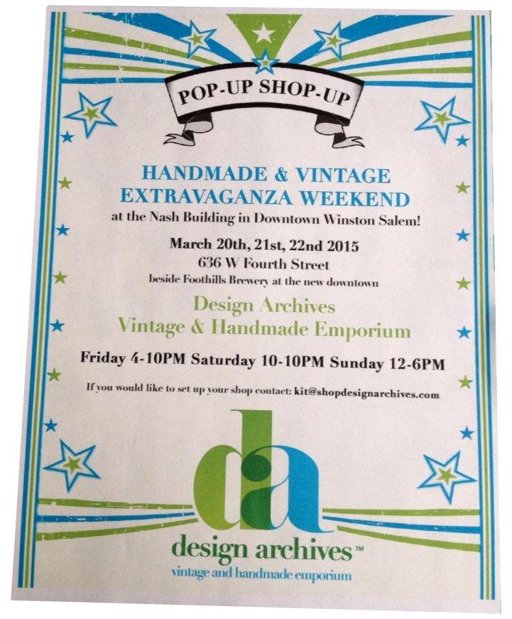 Popup Shopup Design Archives Vintage Amp Handmade