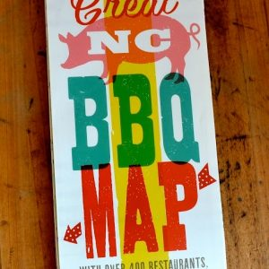 Great North Carolina BBQ Map
