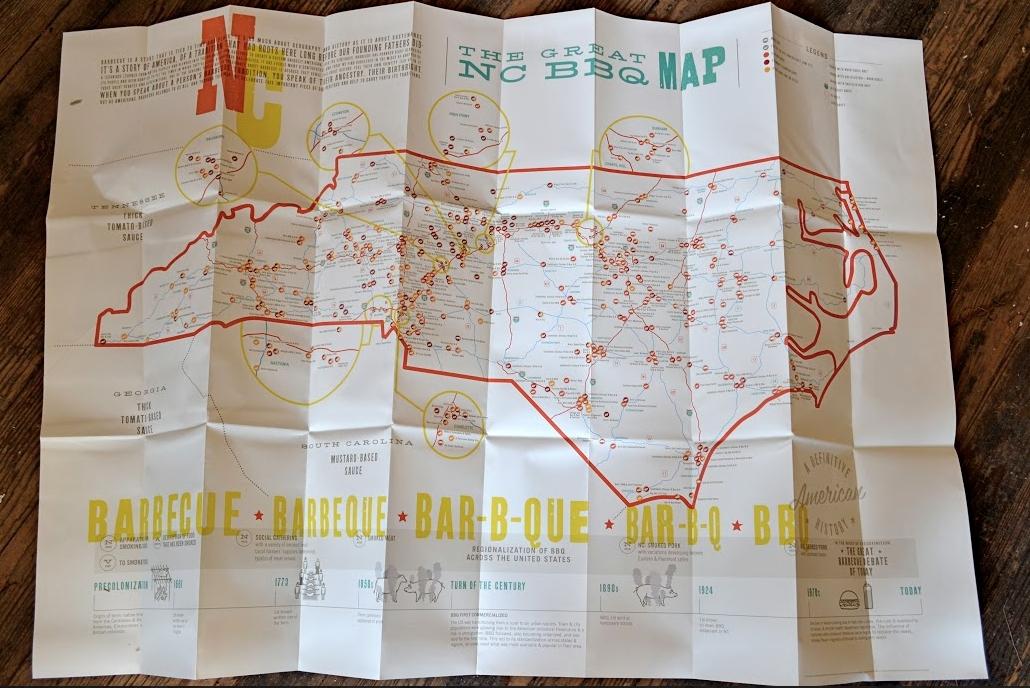 nc bbq map