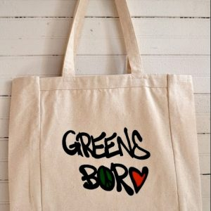 Greensboro Graffiti Canvass Tote Bag