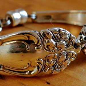 Handcrafted Antique Spoon Bracelet 3