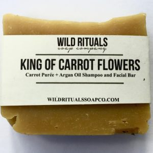 King of Carrot Flowers Soap_