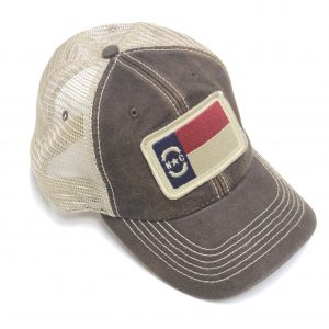 North Carolina Flag Trucker Hat___