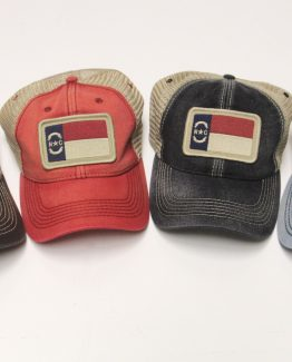 North Carolina Flag Trucker Hats
