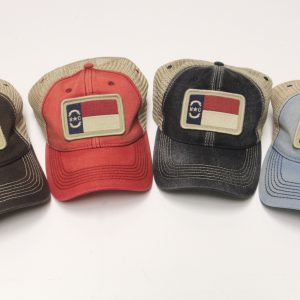 North Carolina Flag Trucker Hats