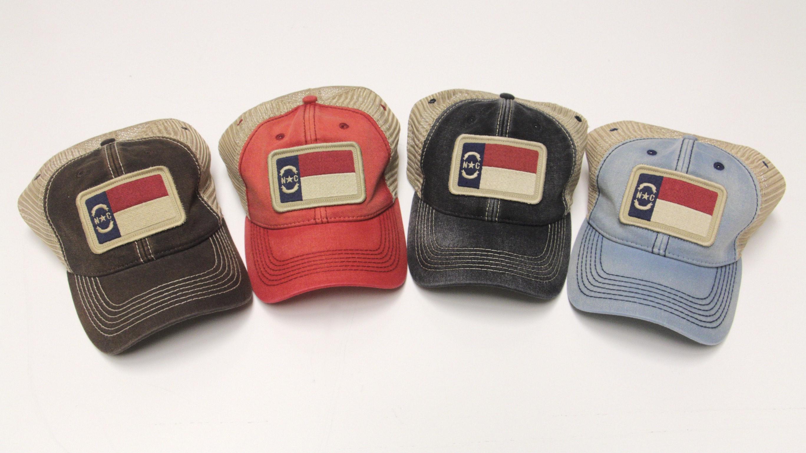 North Carolina Flag Trucker Hat Design Archives