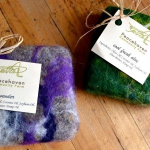 Peacehaven Farms Felted Soap