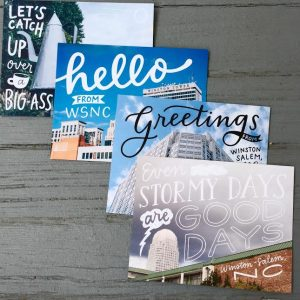 Winston Salem Postcard 4-Pack