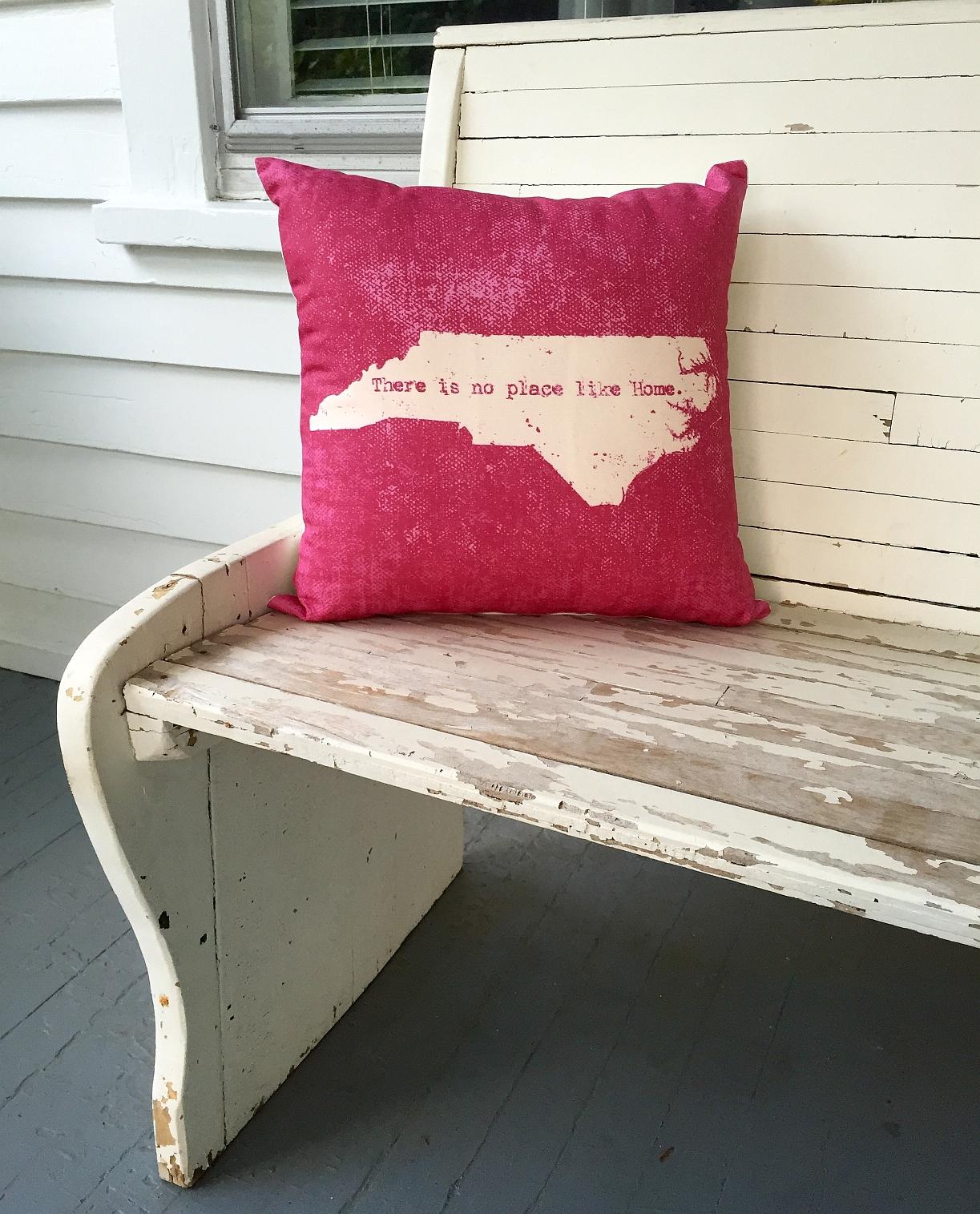 Red-pillow - Design Archivesu2122 Emporium: Greensboro and Winston-Salem