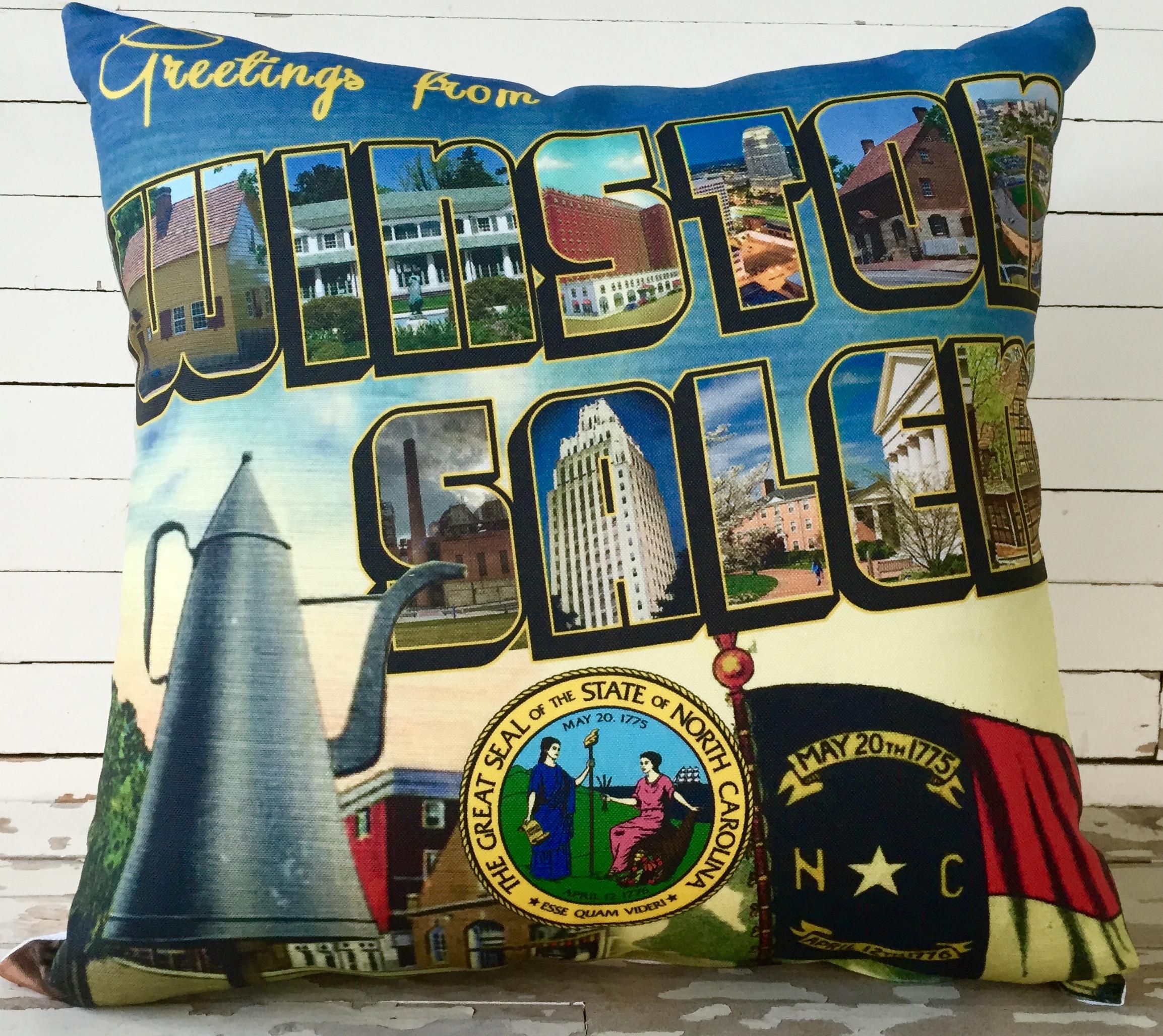 Attractive Consignment Furniture Emporium Winston Salem Nc #11: Scenic Winston Salem Pillow