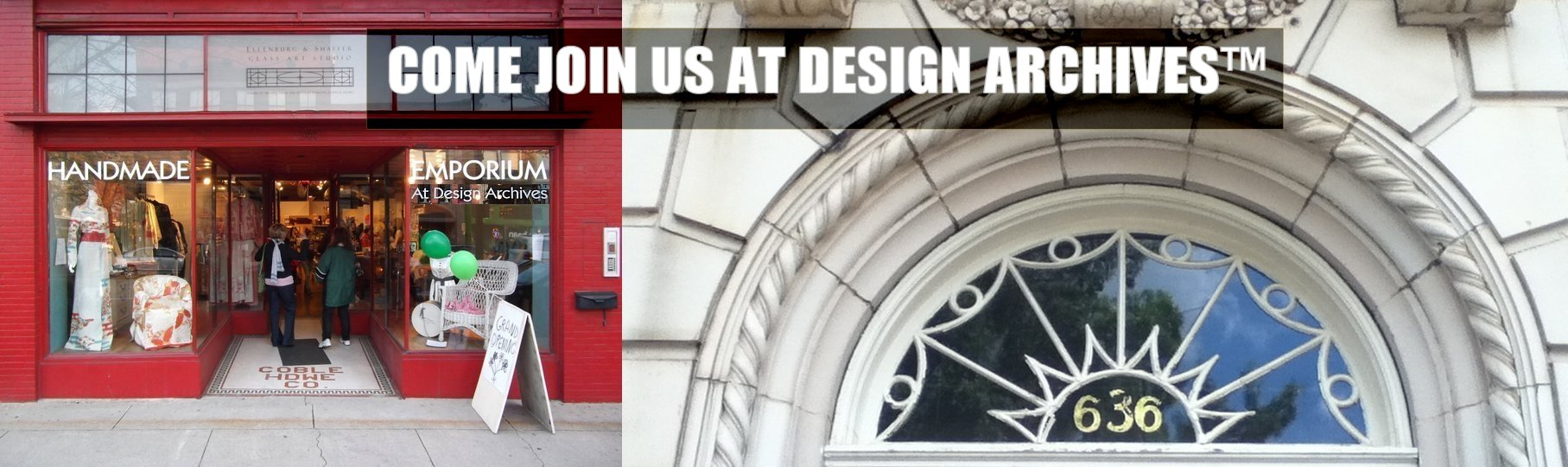Join us at Design Archives