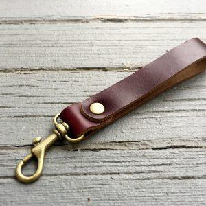 leatherkeychain