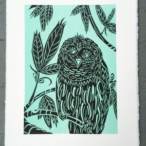 natureprint - owl