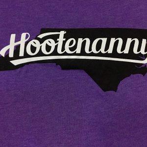 Hootenanny tee - logo