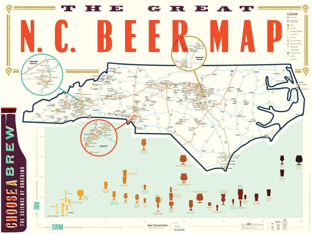 Beer Map Front 1 Design Archives Vintage Amp Handmade