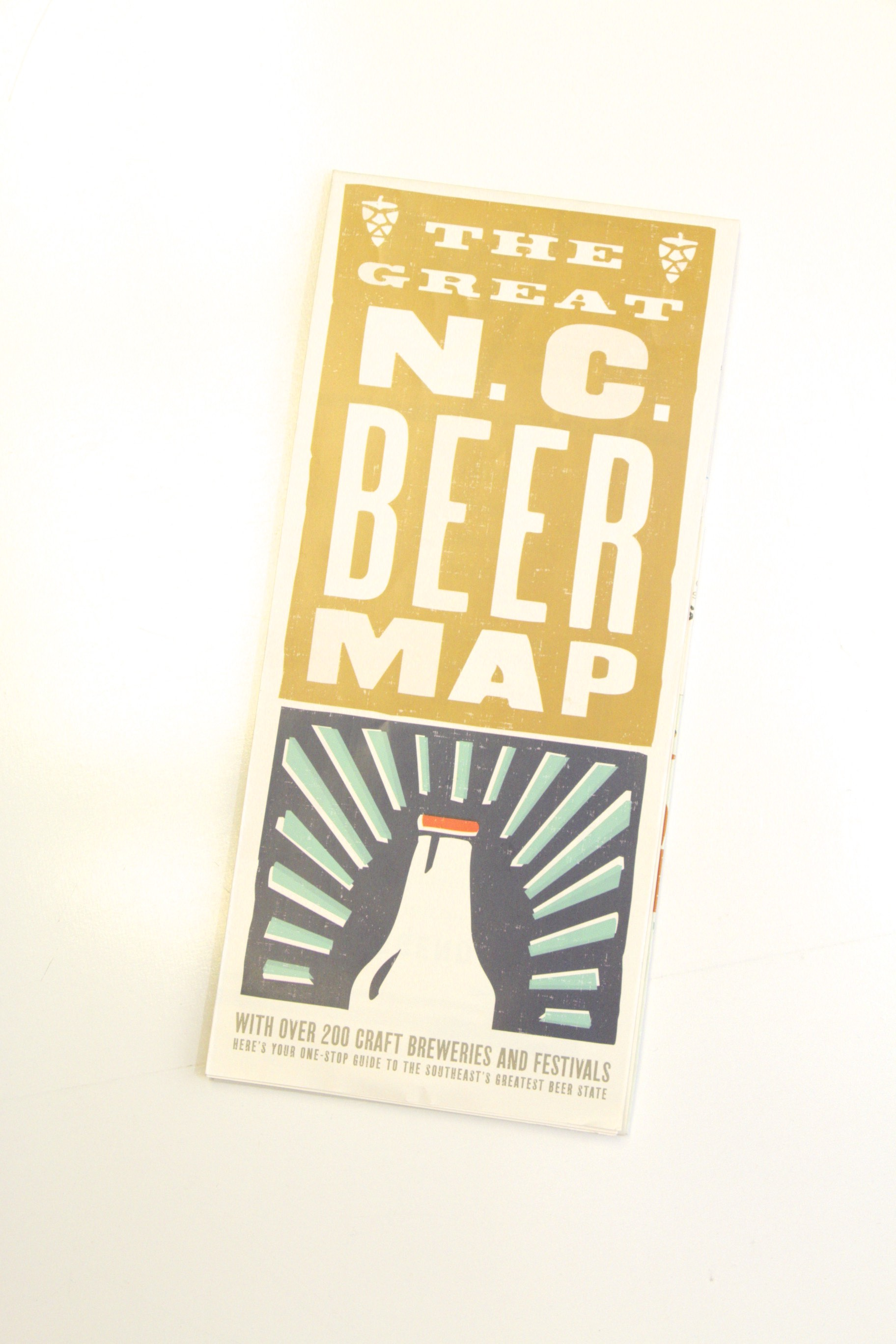 The Great NC Beer Map Design Archives Emporium