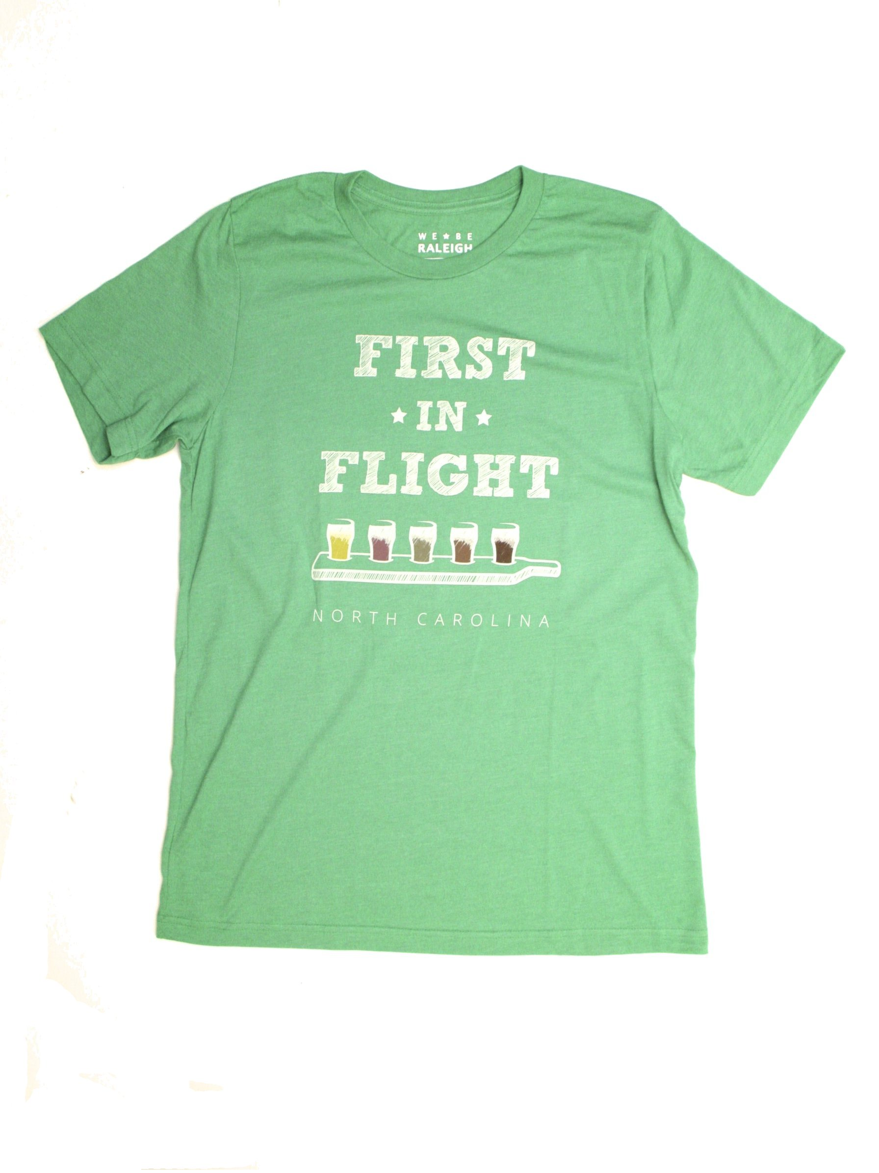 First In Flight North Carolina Beer T Shirt