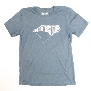 NC Better on Top Tee Shirt - blue