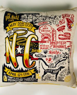 North Carolina Commemorative Super Pillow_