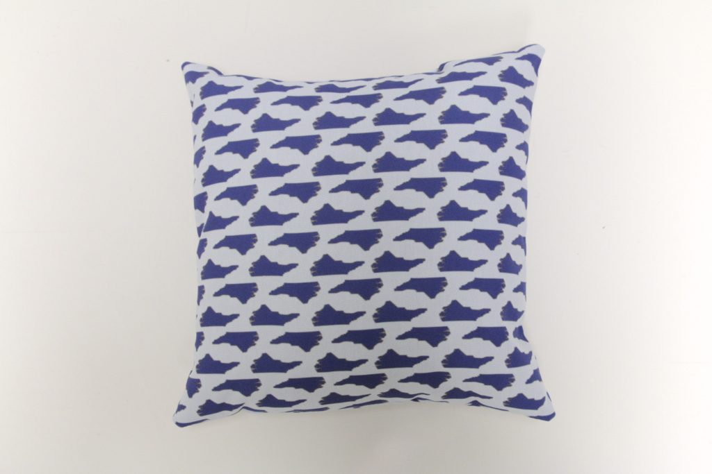 North Carolina State Blues Pillow Design Archives