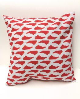 North Carolina State Red Pillow