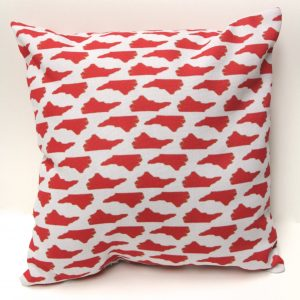 North Carolina State Red Pillow