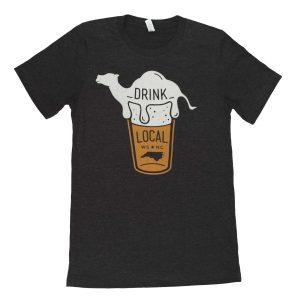 Winston Salem Drink Local Tee Shirt