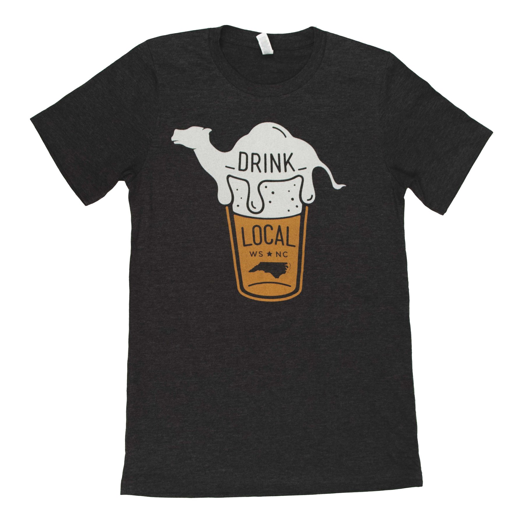Winston Salem Drink Local Tee Shirt Design Archives