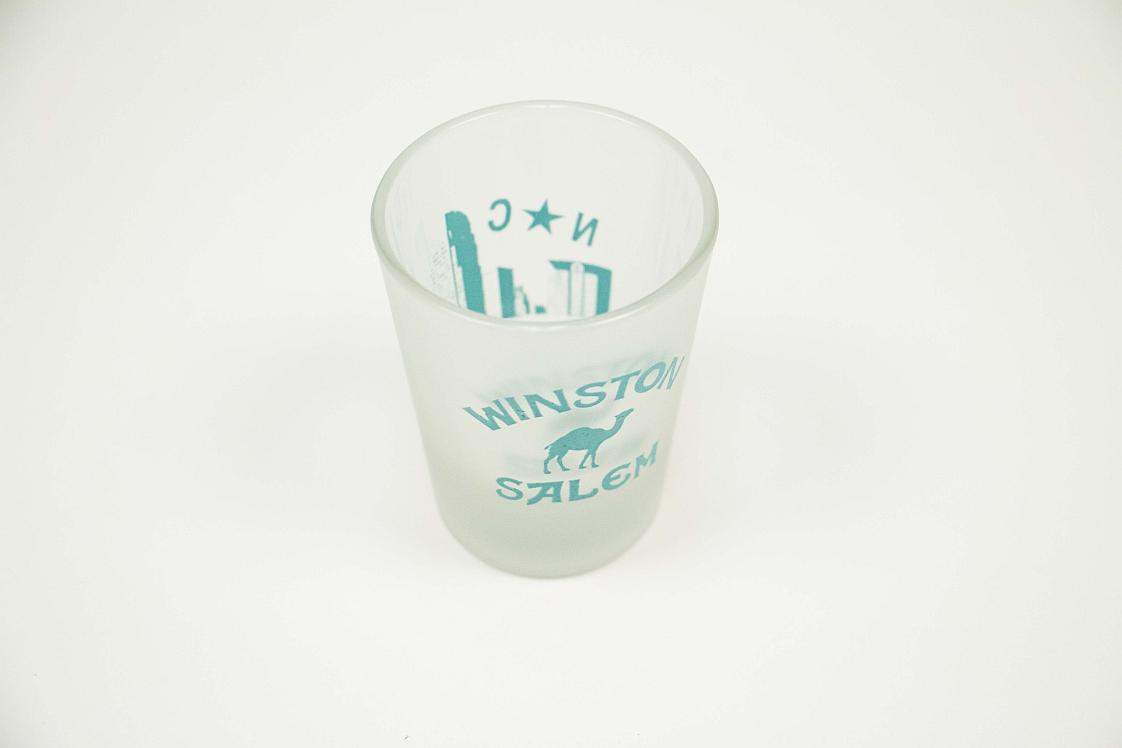winston salem north carolina shot glass