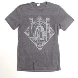 Winston Salem Stacks Skyline Tee Shirt