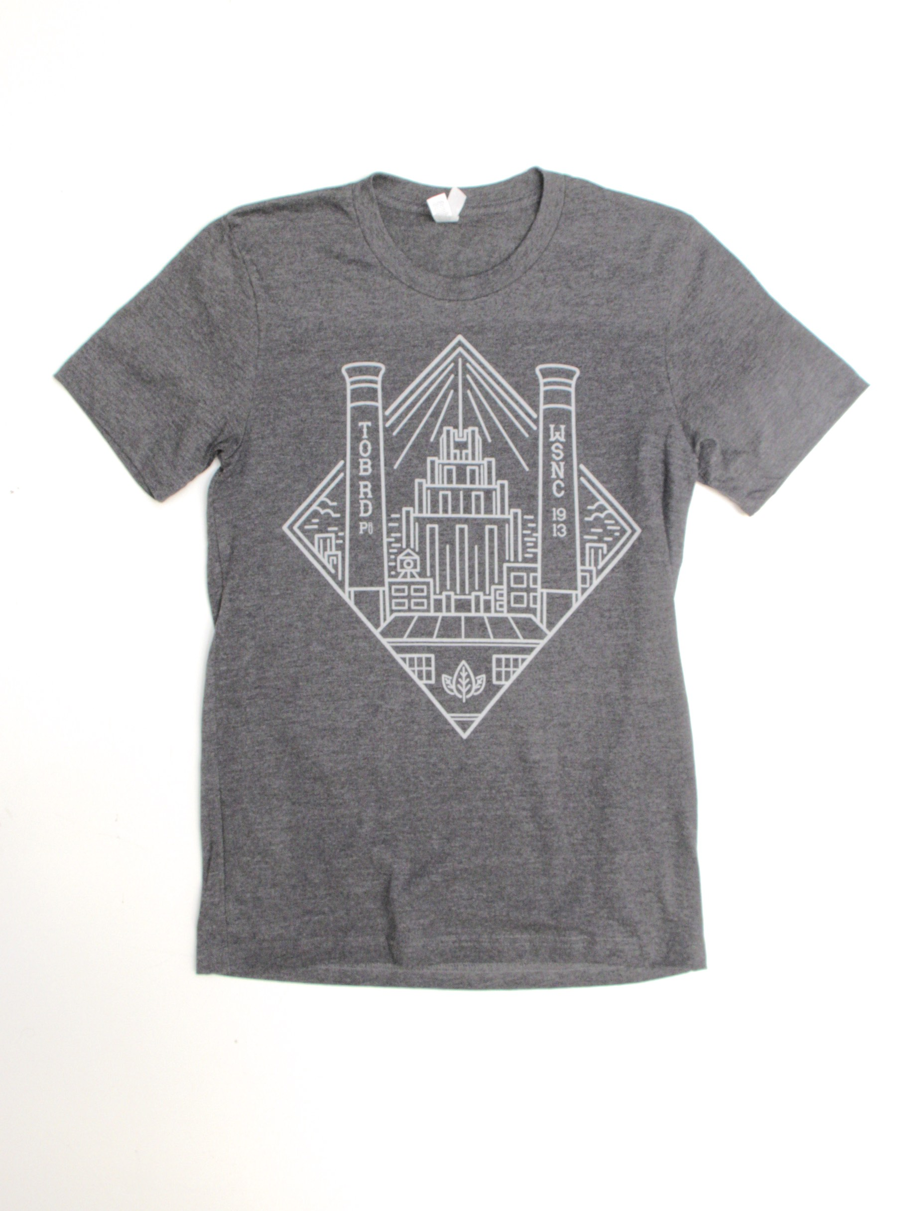Winston Salem Stacks Skyline Tee Shirt Design Archives