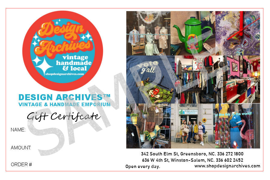 Design Archives™ Emporium Gift Certificates